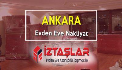 Ankara Evden Eve Nakliyat hizmetimiz
