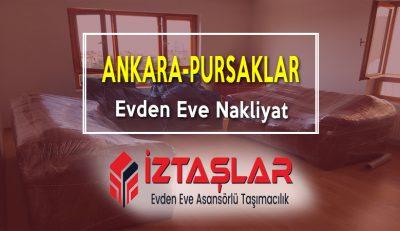 Ankara Pursaklar Evden Eve Nakliyat